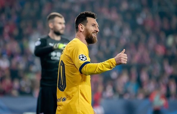 The irrepressible Lionel Messi again proved to be the i