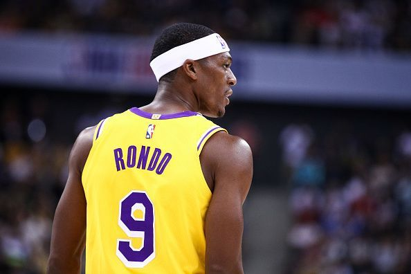 Rajon Rondo missed the Lakers