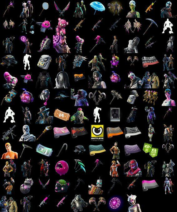 All the Halloween Skins that would roll out in Fortnite this year (Image Hypex and Kleinmike)