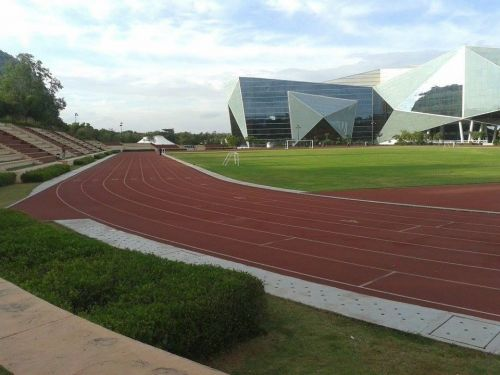 I started running on the athletic track soon after it got opened in Sep 2009