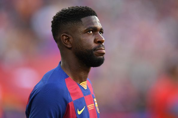 Samuel Umtiti is fit and available for the first time this season