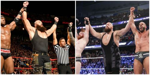 Both men have formed many unlikely tag teams