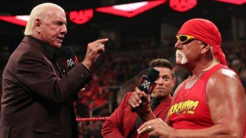 WWE ने टीम्स को लीड करने के लिए रिक फ्लेयर और हल्क होगन को क्यों चुना?