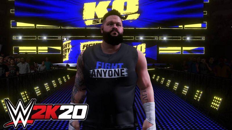 Kevin Owens in WWE 2K20