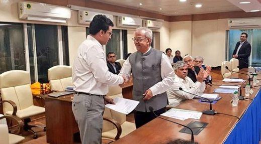 गांगुली ने आधिकारिक रूप से बीसीसीआई अध्यक्ष पद ग्रहण किया