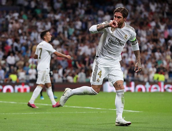 Ramos scored to make it 2-1