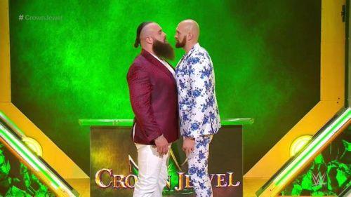 Braun Strowman will face Tyson Fury at Crown Jewel