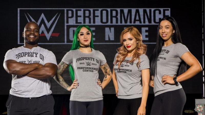 WWE have four new signings!
