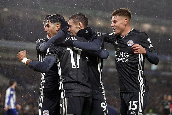 Leicester City will be looking to add to Everton
