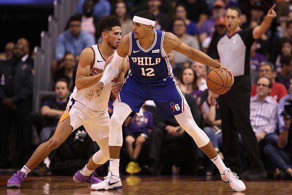 Philadelphia 76ers vs Phoenix Suns.