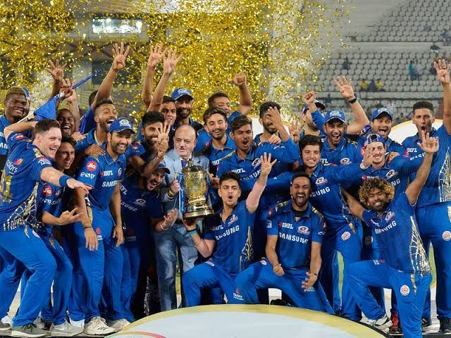 Mumbai Indians - the most successful side in the history of the IPL