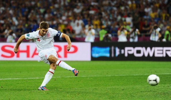 Steven Gerrard led England during the first half of the decade