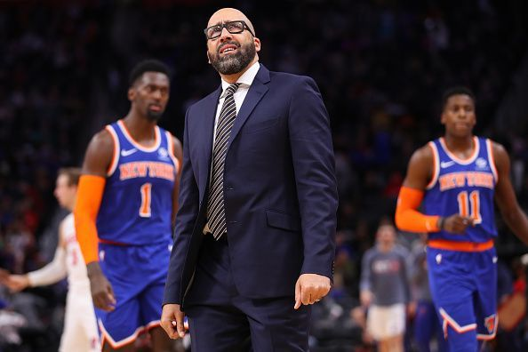 The New York Knicks have made an awful start to the 2019-20 NBA season