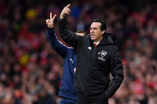 Unai Emery is under pressure right now at Arsenal