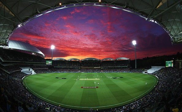 The Adelaide Oval under lights