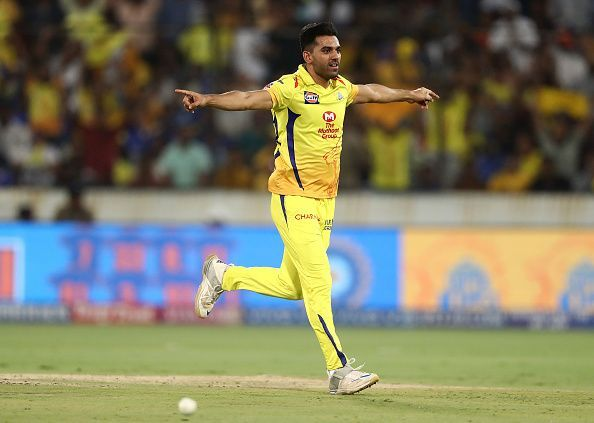 Deepak Chahar with the new ball has been a revelation for India