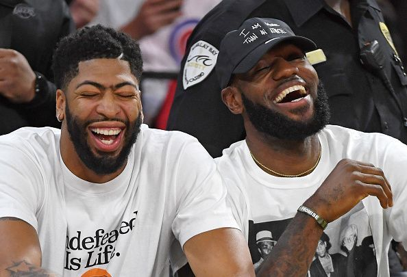 Anthony Davis and LeBron James finally play together, for the Lakers