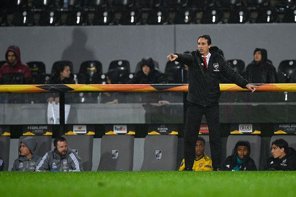 Unai Emery is staring down the barrel.