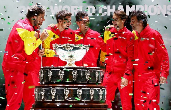 Spain won yet another Davis Cup title this year.