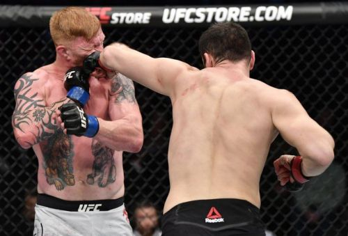 Khadis Ibragimov hits Ed Herman