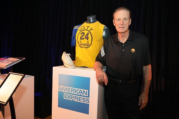 Rick Barry is a Warriors legend.
