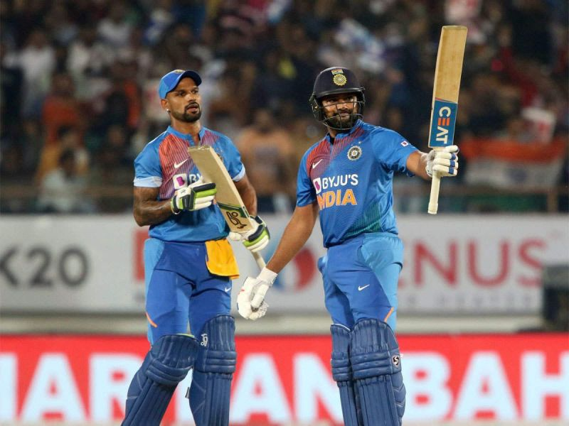 Indian openers saw India cruise to victory in Rajkot