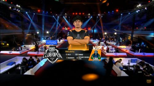 SouL's MortaL emerged as the MVP of PMCO Fall Split 2019 South Asia Regional Finals Day 3 Match 14.