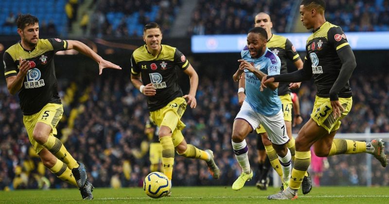 Sterling endured a difficult afternoon, was regularly isolated and frustrated by an ever-present Valery