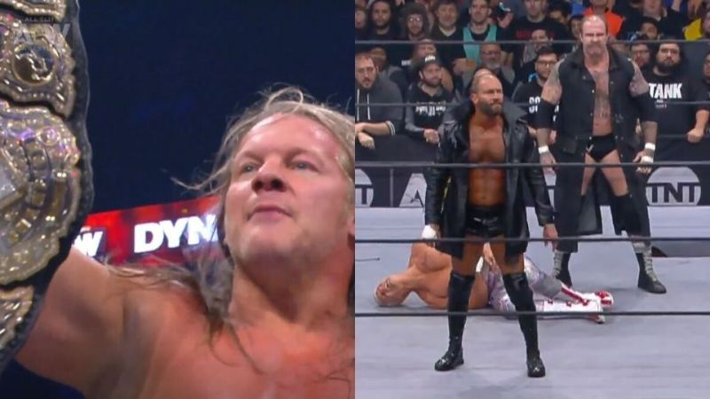We saw Blade and Butcher make their AEW debut