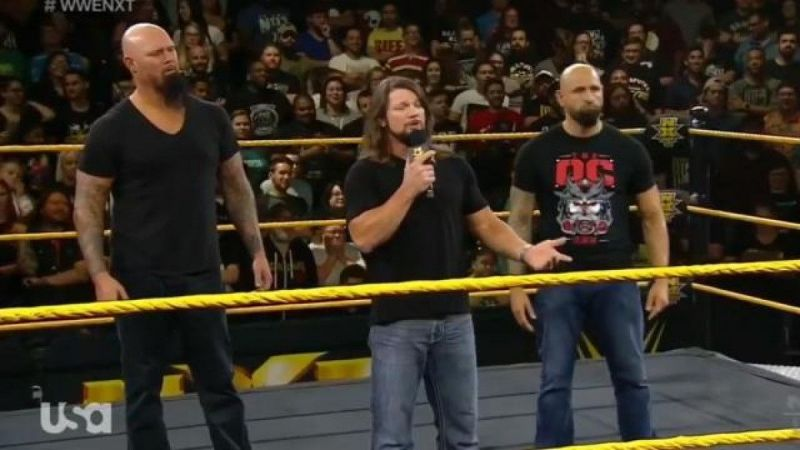 The O.C. invaded NXT this week