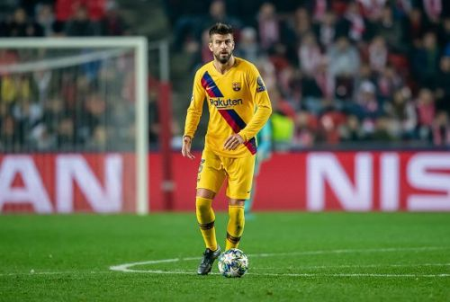 Pique's error led to the concession of the first goal.