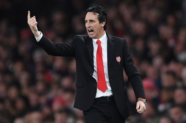 The pressure is mounting on Unai Emery as Arsenal host Frankfurt at the Emirates