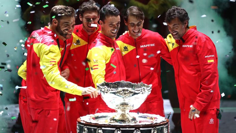 Davis Cup champions Spain
