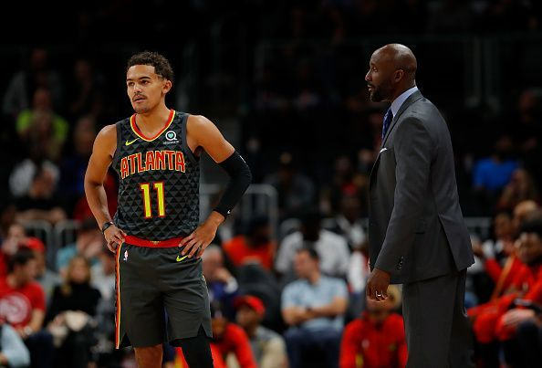 Trae Young has taken a huge jump in his second year in the NBA
