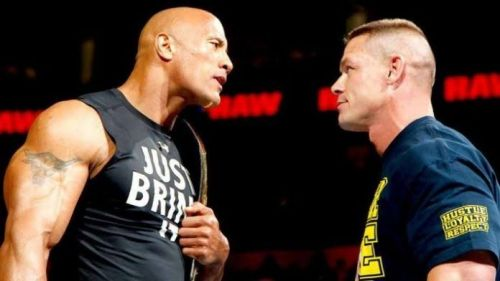 The Rock and Cena