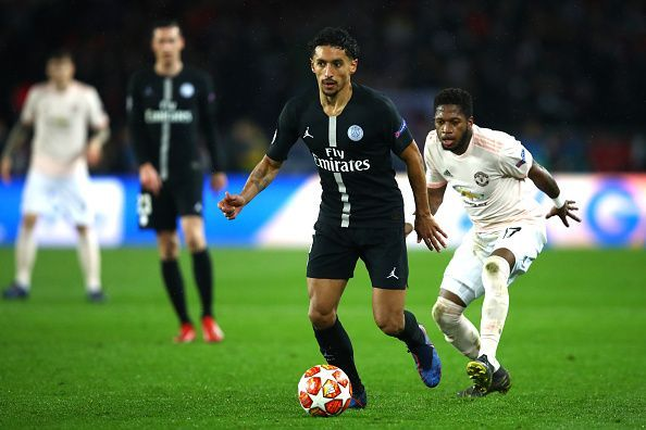 There is a strong Brazilian contingent at Paris Saint-Germain and Marquinhos is perhaps the most critical