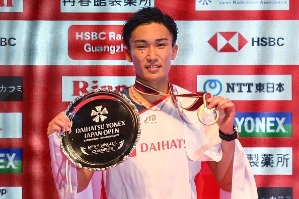Momota has had a wonderful year.
