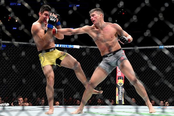 UFC 244 Thompson v Luque