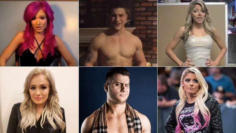 These stars auditioned for WWE earlier in their career