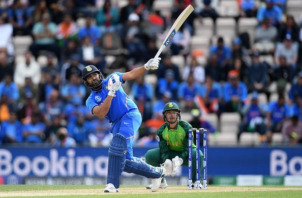Quinton de Kock and Rohit Sharma open the innings for Mumbai Indians