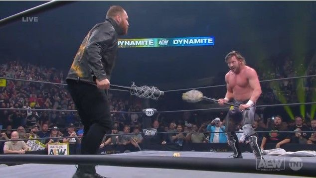 A wild brawl between The Inner Circle and The Elite ended a momentous night for AEW!