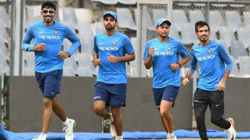 In stark contrast to the batting line-up, India's bowling attack bears a settled look.