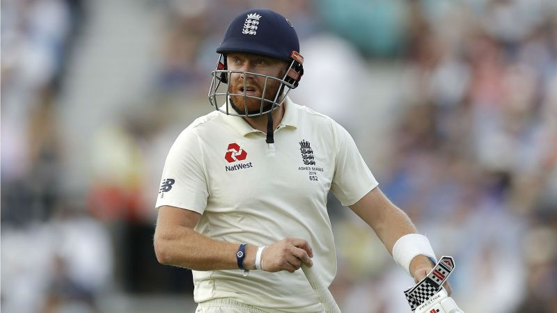 Jonny Bairstow struggled in the Ashes