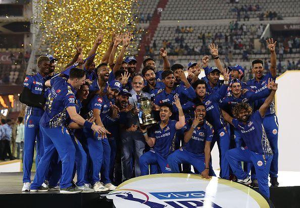 2019 IPL Final - Mumbai v Chennai.