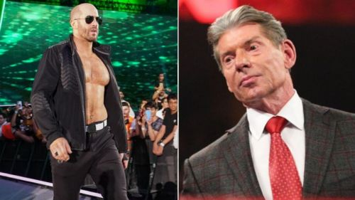 Vince McMahon once said Cesaro does not connect with fans