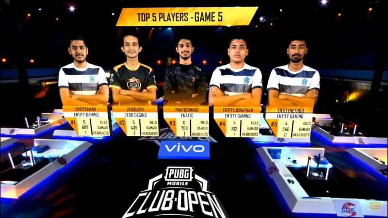 Top 5 players of PMCO Fall Split 2019 SA Regional Finals Day 1 Match 5