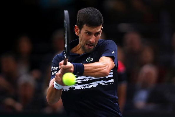 Djokovic played his best tennis in the quarterfinal showdown