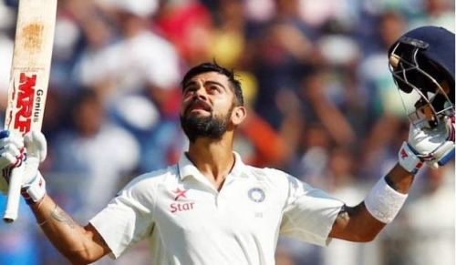 Virat Kohli is the only Indian captain to have outscored the opposition's team total in Tests.