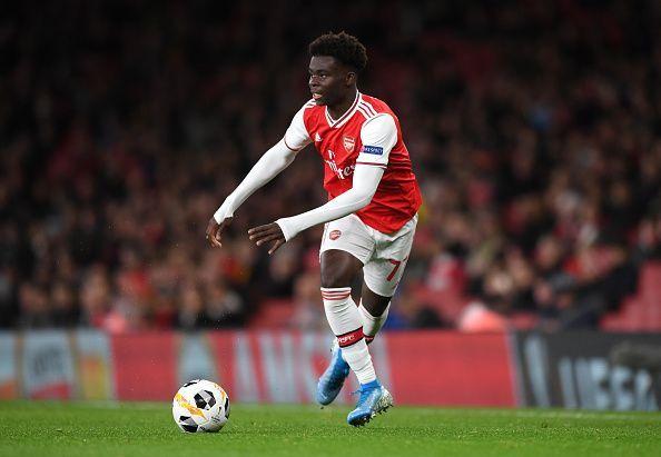 Bukayo Saka is one of many hot prospects at Arsenal