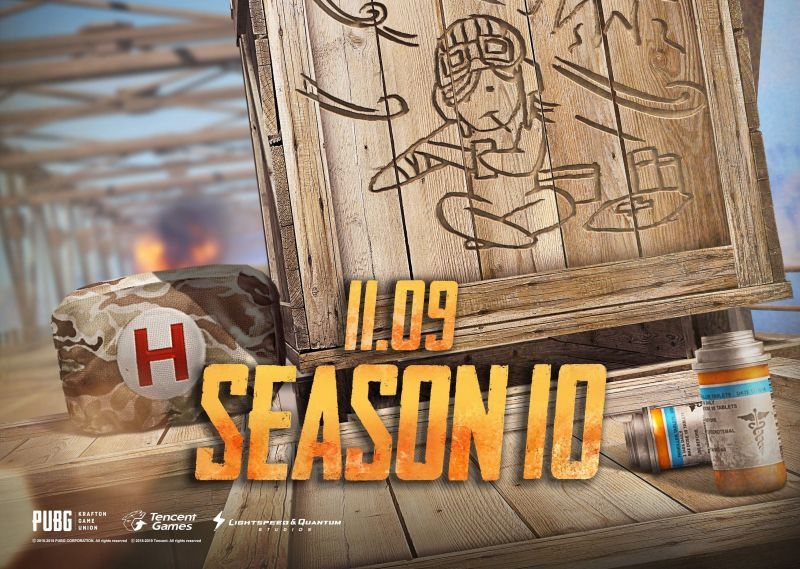PUBG Mobile Royale Pass Season 10 to release on November 9, 2019, and its theme could be healing